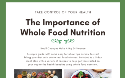 Free Mini eBook: Whole Food Nutrition with Meal Plan