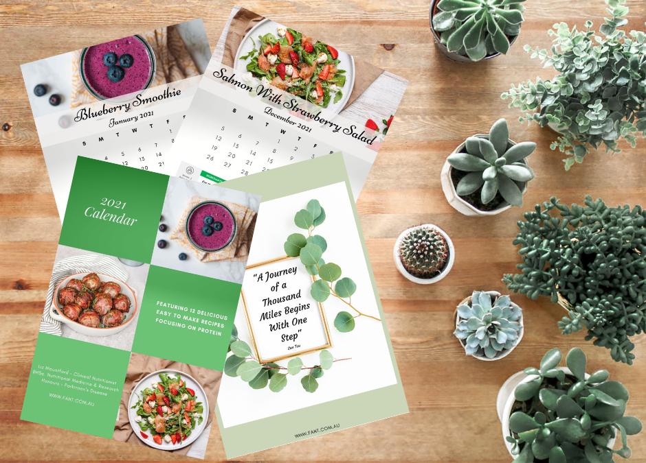Nutrition Calendar 2021